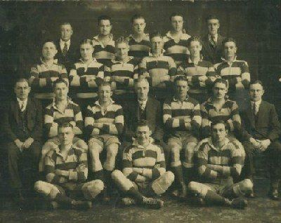 The 1934 Petersham Kentwell Cup Premiership Side